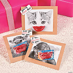 Funny Face Valentine Giveways Idea