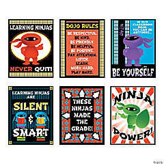 Learning Ninja Posters