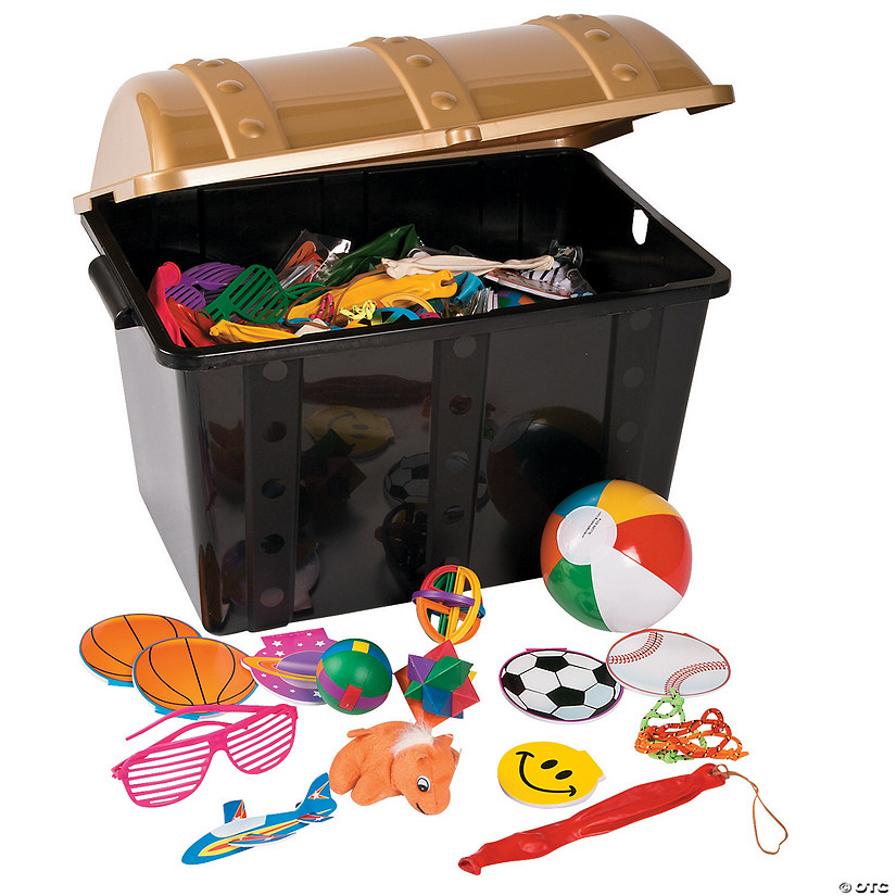 Toys And Treasures : Treasure chest with toys