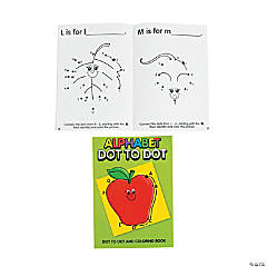 Alphabet Dot-to-Dot Activity Books
