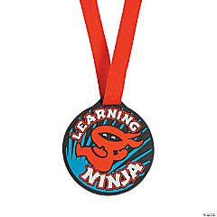 Ribbon Learning Ninja Award Medals