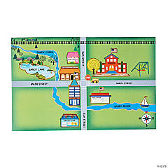 Directional Map Sticker Scenes