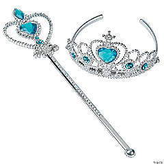 Princess Tiara & Wand Set