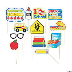 Back to School Photo Stick Props