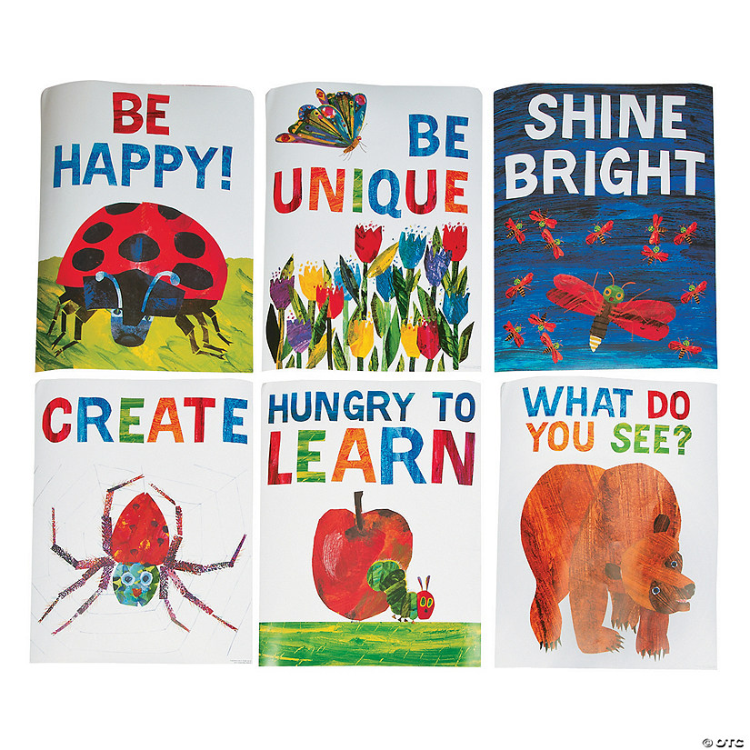 The World Of Eric Carle Motivational Posters