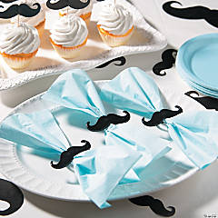 Baby Shower Bow Napkins Idea