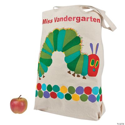 Jumbo Personalized Eric Carle's The Very Hungry Caterpillar™ Canvas Tote