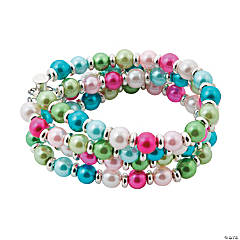 Bright Pearl Bracelet Idea