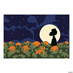 Plastic Peanuts® Great Pumpkin Backdrop Banner