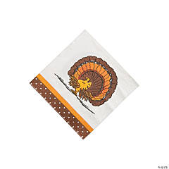 Paper Peanuts® Thanksgiving Beverage Napkins