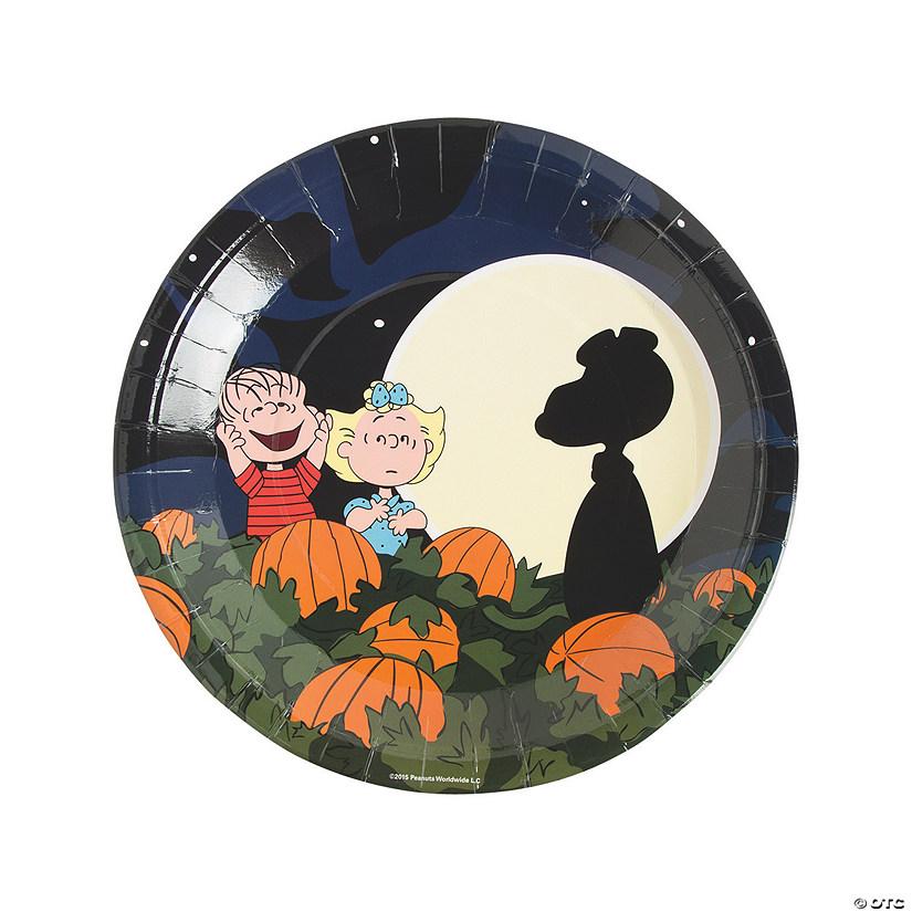 sc 1 st  Oriental Trading & Peanuts® Halloween Paper Dinner Plates