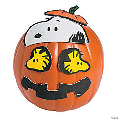 Peanuts™ Characters Pumpkin Decorating Craft Kit