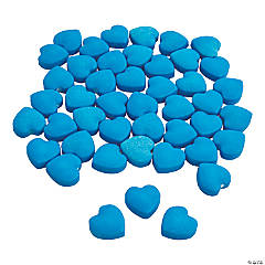 Blue Candy Hearts