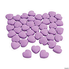 Lilac Candy Hearts