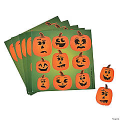 Jack-O-Lantern Treat Pack Stickers
