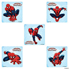 Spider-Man Shaped Stickers