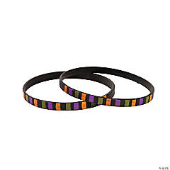 Halloween-Striped Thin Bands