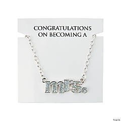 Mrs. Necklace with Card