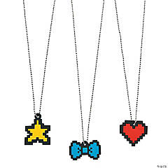 Digi Pixel Necklaces