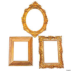 Antique Picture Frame Cutouts