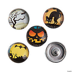 Halloween Snap Beads - 18mm