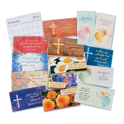 2016-2017 Christian Faith Pocket Planner 48 piece bundle