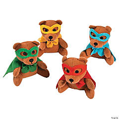 Plush Superhero Bears
