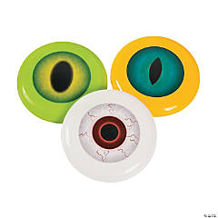 Spooky Eyeball Mini Flying Discs