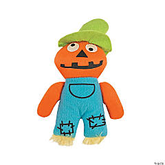 Plush Halloween Scarecrows