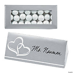 Wedding Place Card Favor Boxes