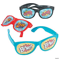 Superhero Pinhole Glasses