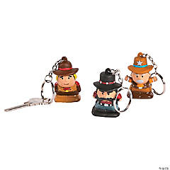 Cowboy Character Key Chains