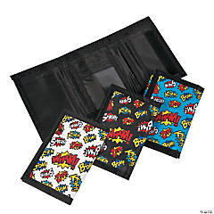 Superhero Tri-Fold Wallets