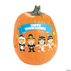 Happy Thanksgiving Pumpkin Decorating Craft Kit