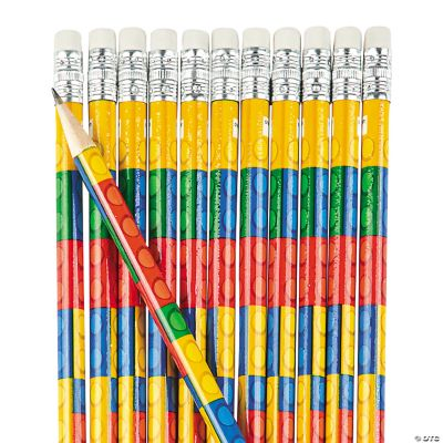 Color Brick Pencils
