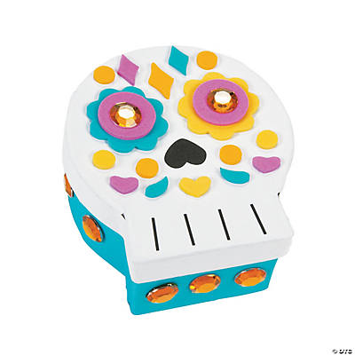 Day of the dead prayer box craft kit for Day of the dead craft supplies