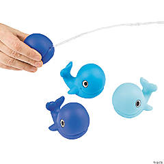Lil Sailor Whale Squirt Toys