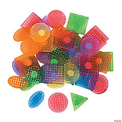 Plastic Adhesive Shapes