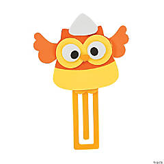Candy Corn Owl Bookmark Craft Kit