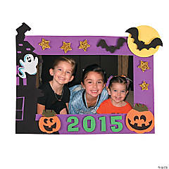2015 Halloween Picture Frame Magnet Craft Kit