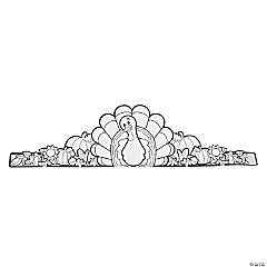 Color Your Own Turkey Hat Crowns