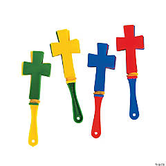 Mini Cross-Shaped Clappers