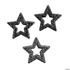 Glitter Star Pendants
