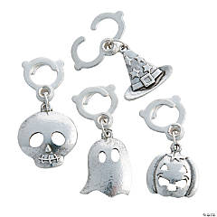 Halloween Clip-On Charms -20mm - 42mm
