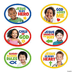 Jumbo Sunday School Cutouts