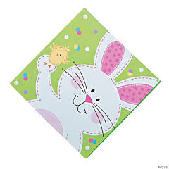 Bunny & Chick Luncheon Napkins