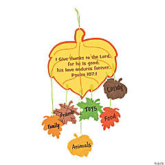 Thankful Leaves Mobile Craft Kit