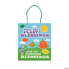 Plant & Harvest Blessings Sign Craft Kit