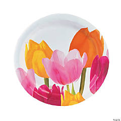 Tulip Time Dinner Plates