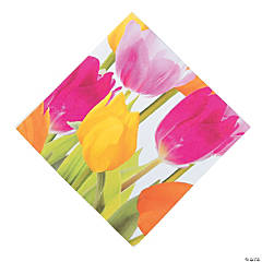 Tulip Time Luncheon Napkins